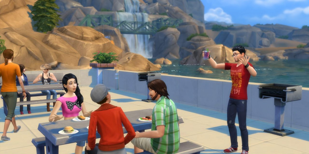 The Sims 4: Second World Called 'Oasis Springs'