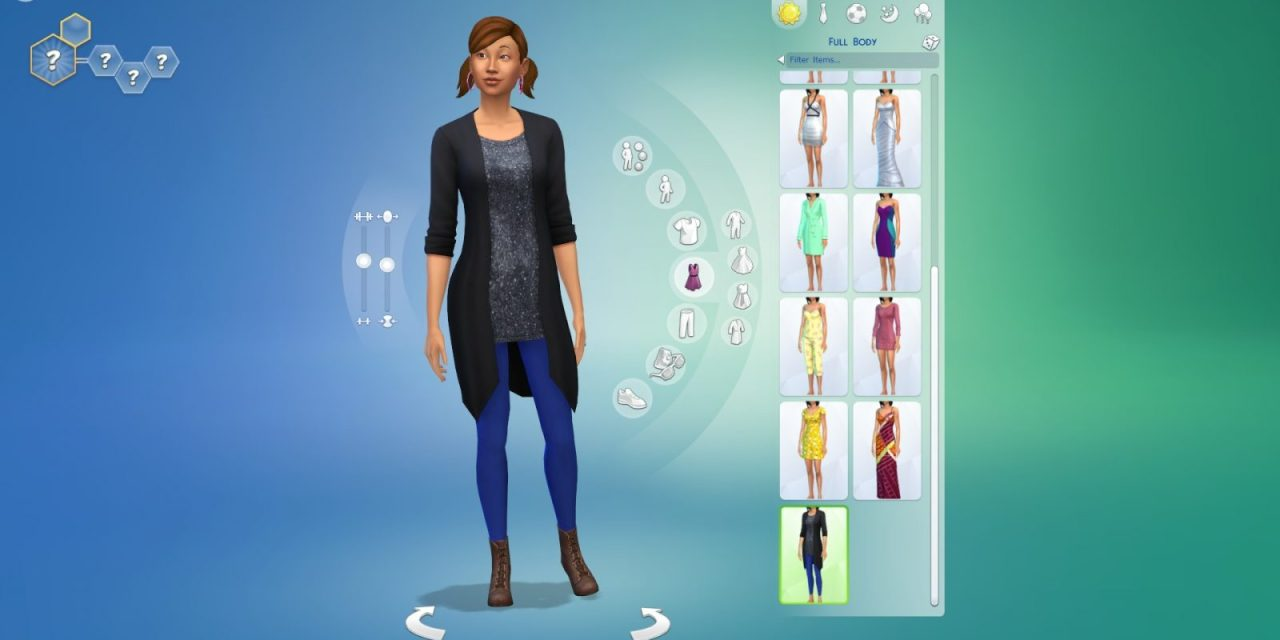 The Sims 4: 30 Minutes of Create A Sim Video Footage