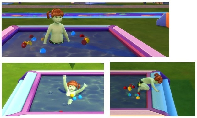 Someone Turned The Ball Pit from Toddler Stuff into a Pool