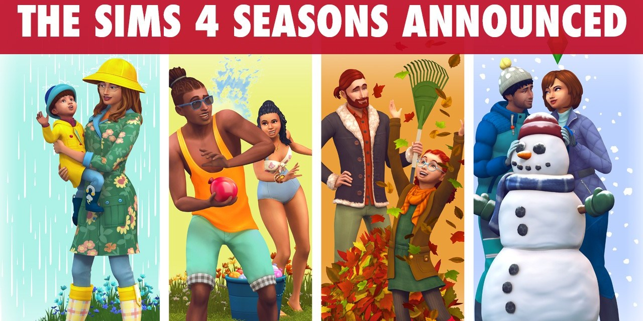 The Sims 4 Seasons Announced; Arriving June 22nd 2018
