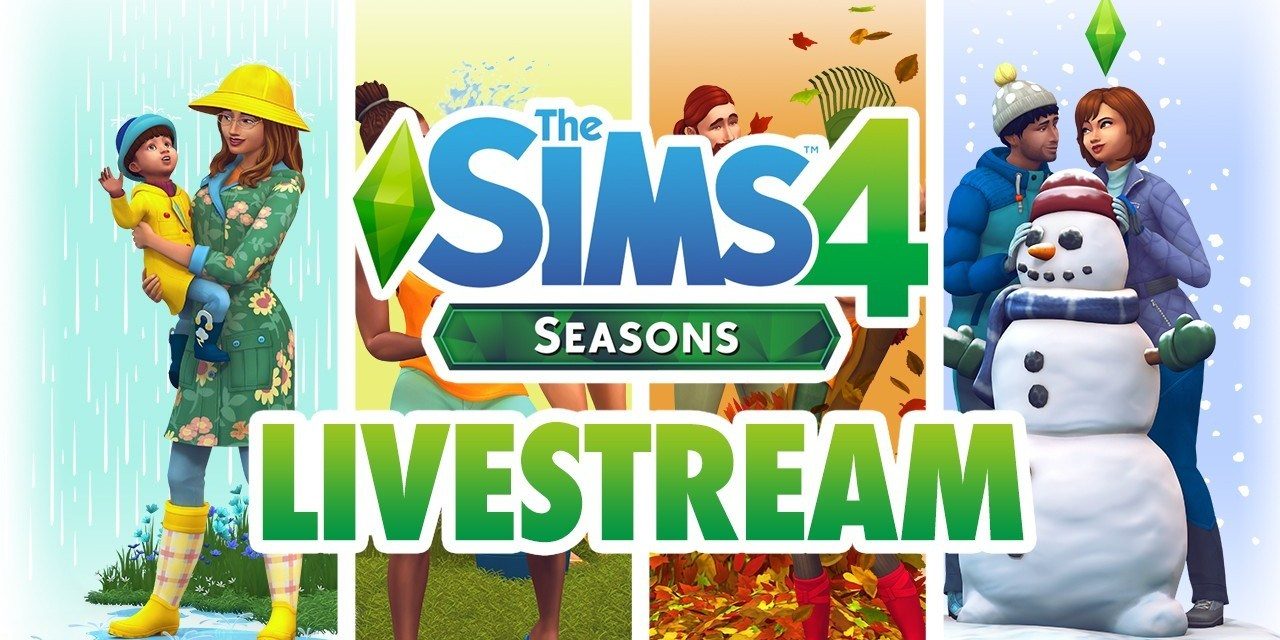 Rewatch Our Sims 4 Seasons Livestream
