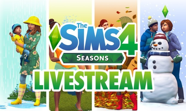 Rewatch Our Sims 4 Seasons Livestream