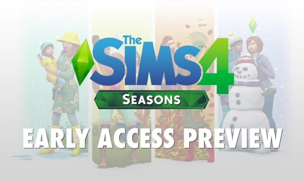 The Sims 4 Seasons Previews from EA Play