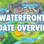 Sims Mobile Game Update Overview: Waterfront, LlamaZoom & More!