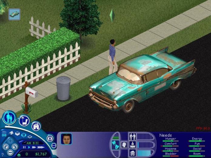 The Carpool in The Sims 1