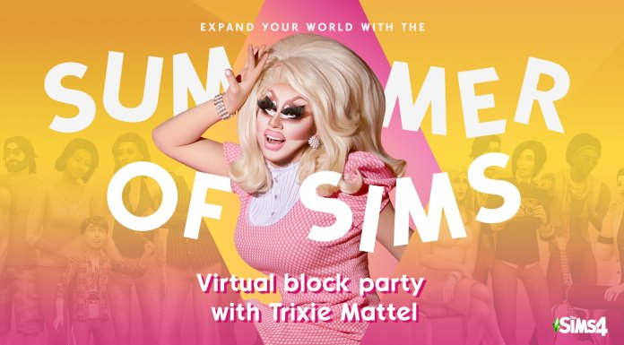 Virtual Pride Block Party with Trixie Mattel