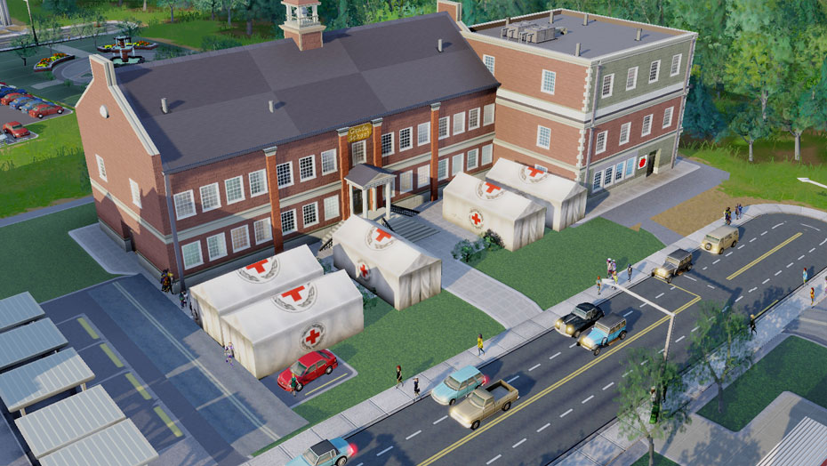 SimCity™ Red Cross Disaster Relief Set