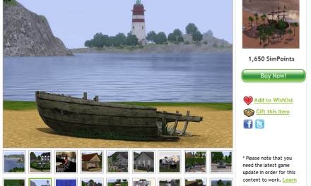 Barnacle Bay now available for 1650 SimPoints!