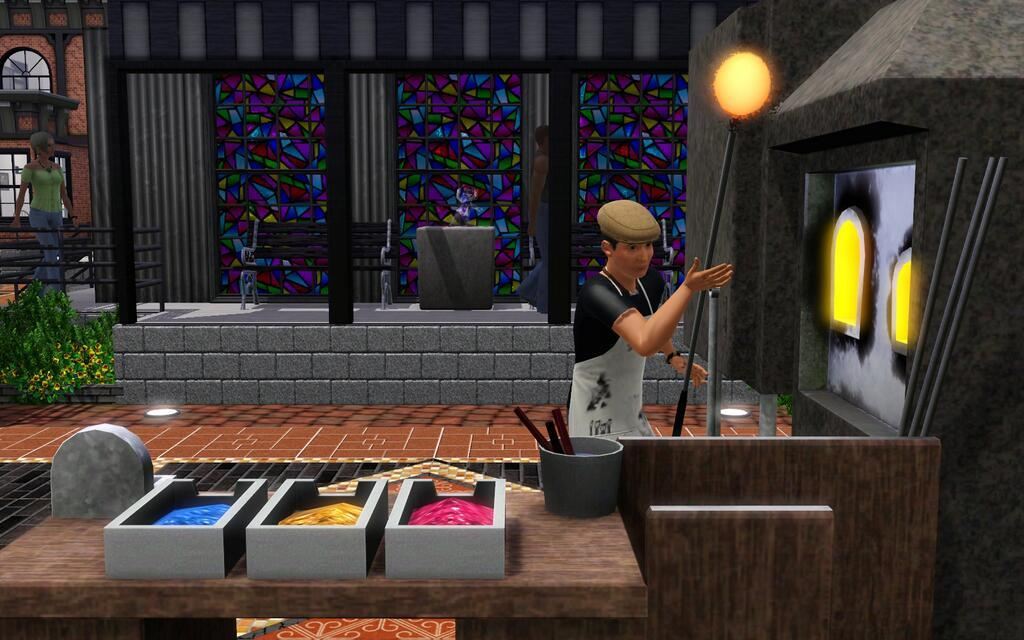 Sims 3 Store: Prism Art Studio Coming February 6th!
