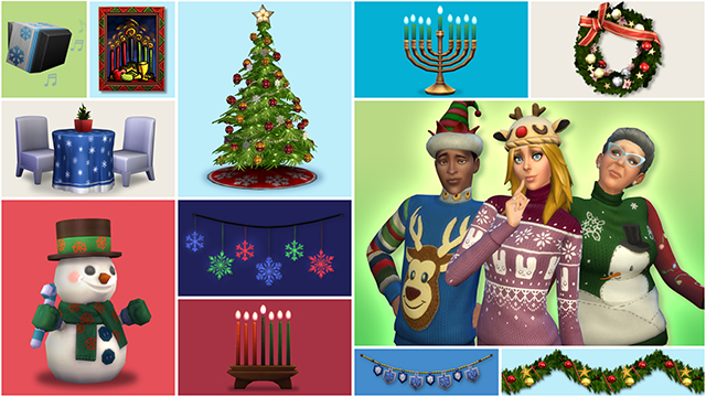 The Sims 4: Free Holiday Celebration Pack