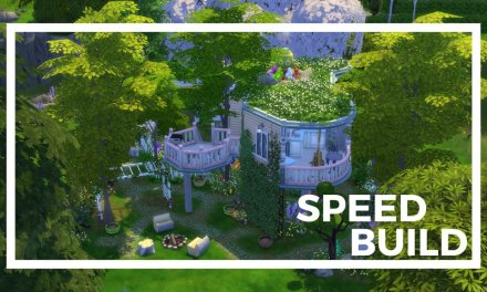EndlxssSims Creates Stunning Easter Lot, Bunny Abode