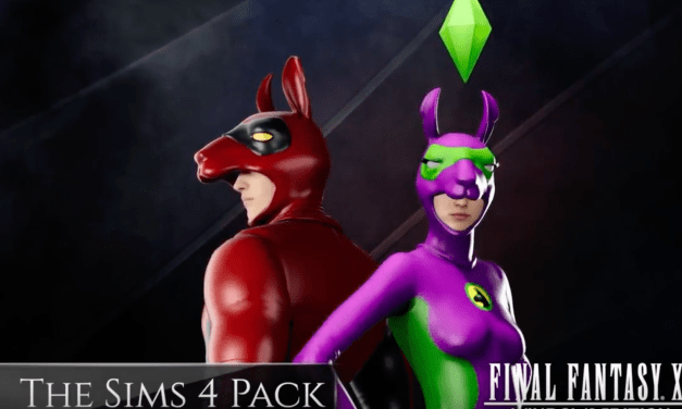 The Sims 4 Llama Suit Bonus in Final Fantasy XV Windows Edition