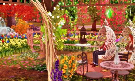 Sims 3 Store: Bohemian Garden Set Review