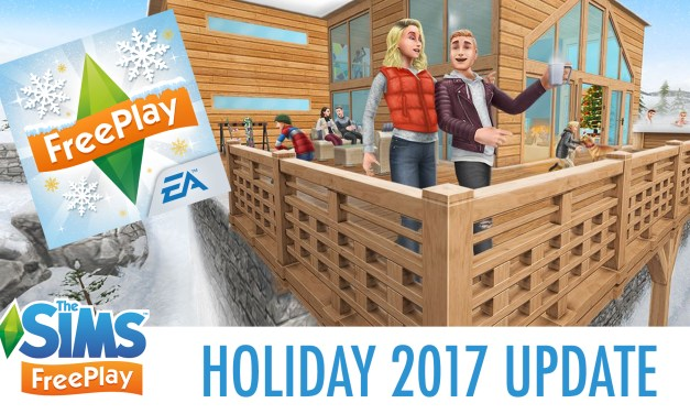 The Sims FreePlay Holiday 2017 Update Walkthrough