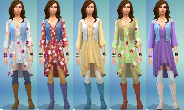 Styled Looks from The Sims 4 Laundry Day Stuff Pack Teased