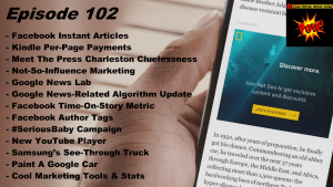Beyond Social Media - Facebook Instant Articles - Episode 102