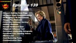 Beyond Social Media - Hillary Clinton 404 Error - Episode 139