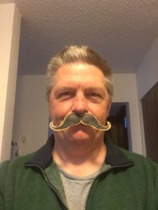 David Erickson - Fake Mustache