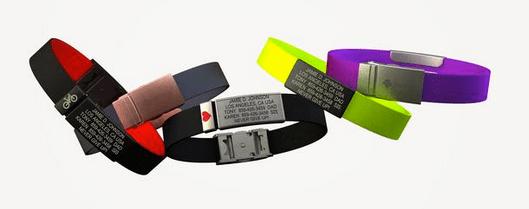 RoadID-medical info bracelets