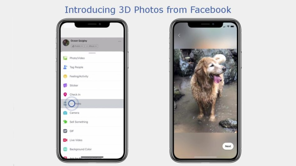 Facebook 3D Photos