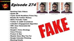 Spotting Fake Videos