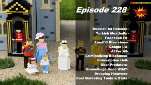 Royal Wedding LEGOized & Russian Facebook Ads Released