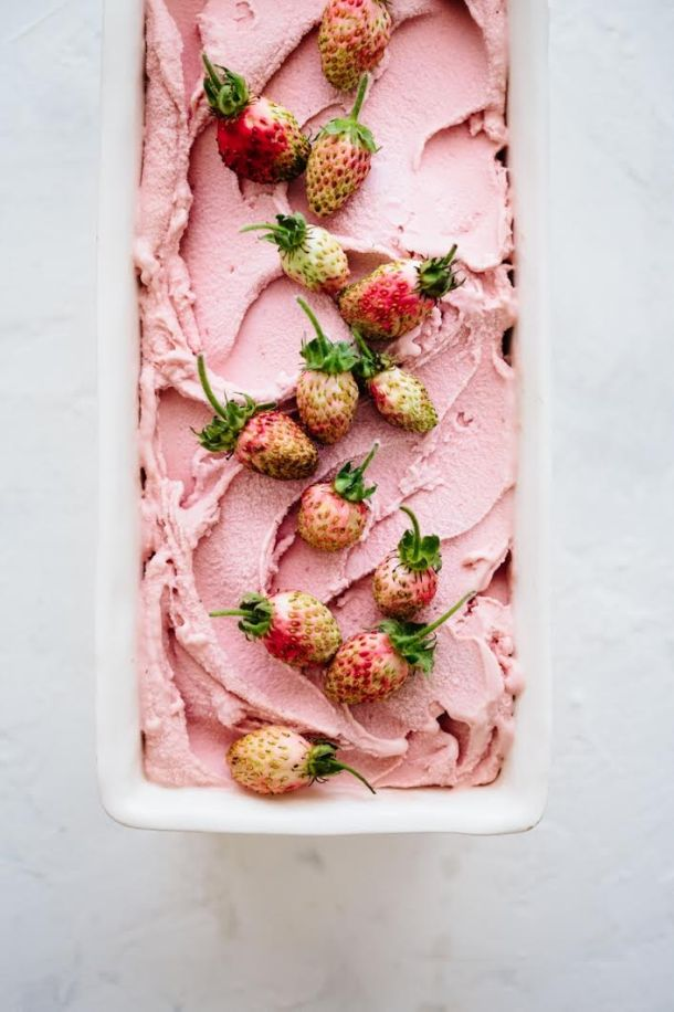 roasted balsamic strawberry ice cream