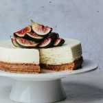 Instant Pot fig goat cheesecake