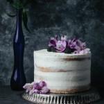 Blackberry Earl Grey Olive Oil Cake