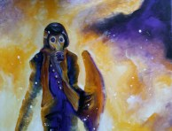 """""""Out of the Fire""""Oil on canvas. SOLD"""
