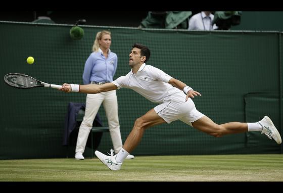 tennis line judge at Wimbledon