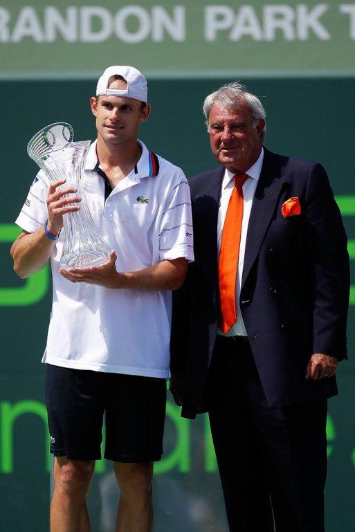 Andy Roddick With Butch Buchholz