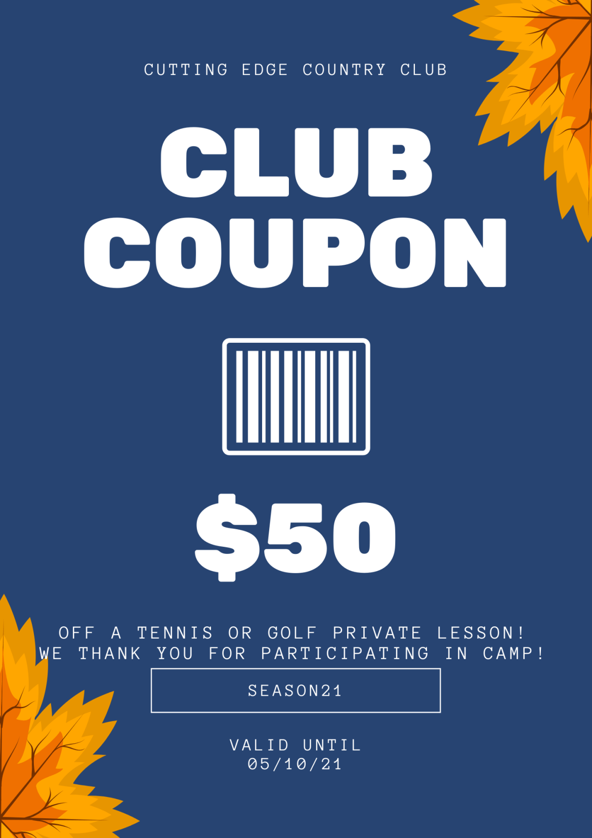 Coupon Marketing Your Club And Your Department! CCC – Country Club Coupons