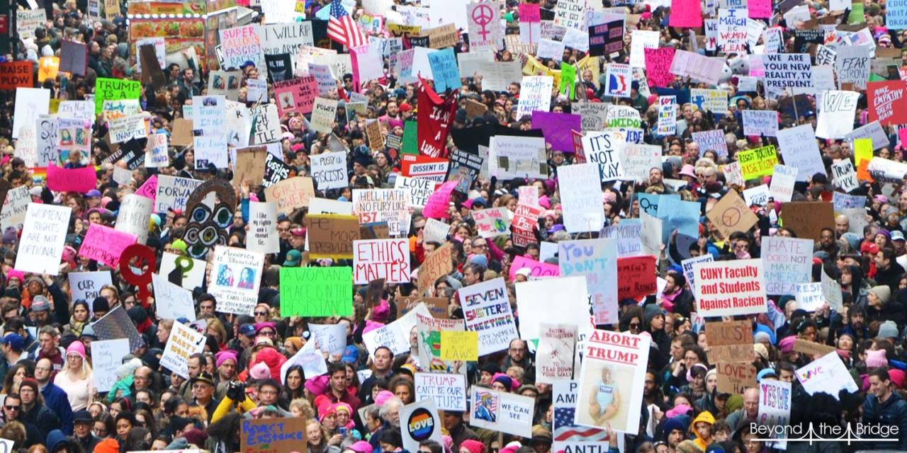 La marche des femmes : l'entrée en résistance !