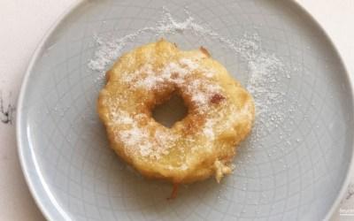 Recette de beignets aux pommes