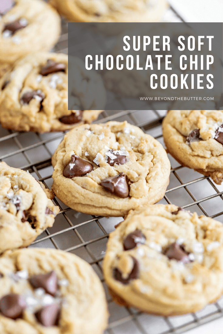 Super Soft Chocolate Chip Cookies | All Images © Beyond the Butter, LLC