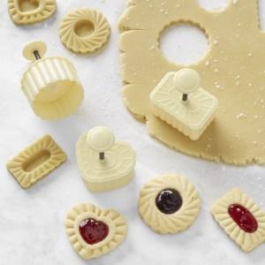 Williams Sonoma Thumbprint Cookie Stamp Set