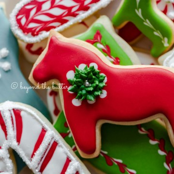 Closeup of the best cut out sugar cookies | All Images © Beyond the Butter®