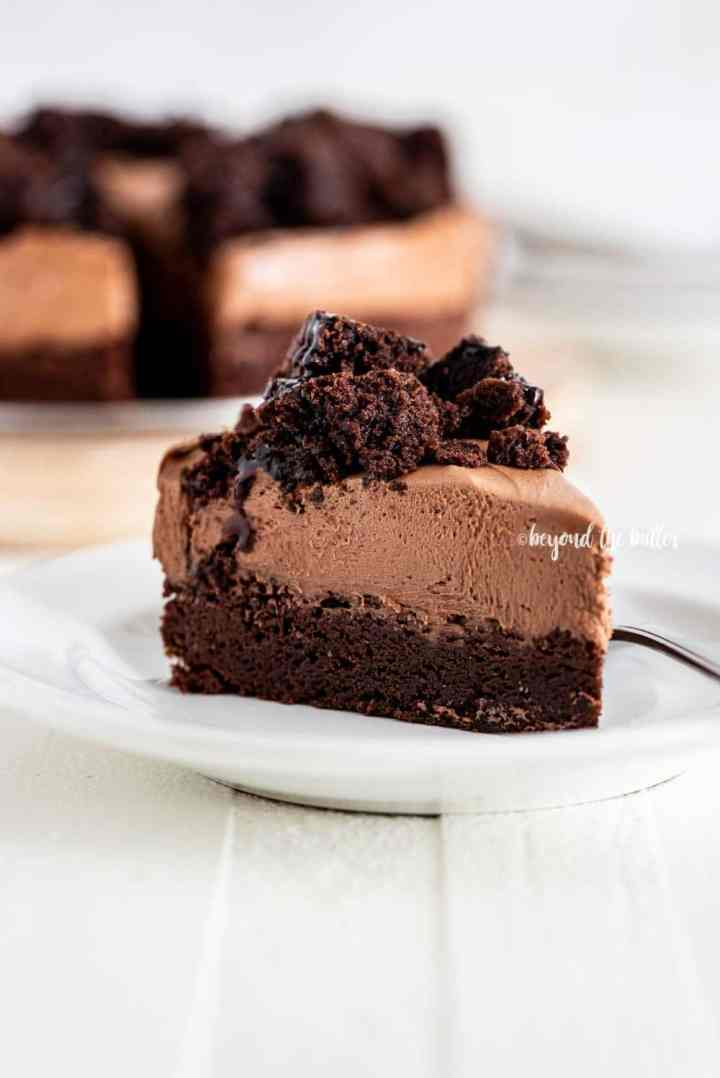 Chocolate Brownie Cheesecake | All Images © Beyond the Butter, LLC