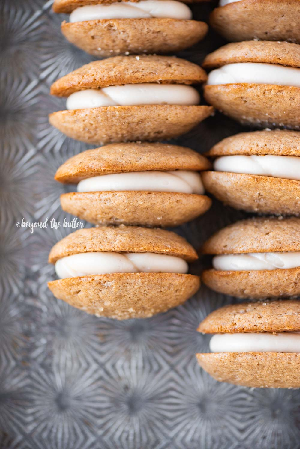 Homemade Apple Cider Whoopie Pies | All Images © Beyond the Butter, LLC