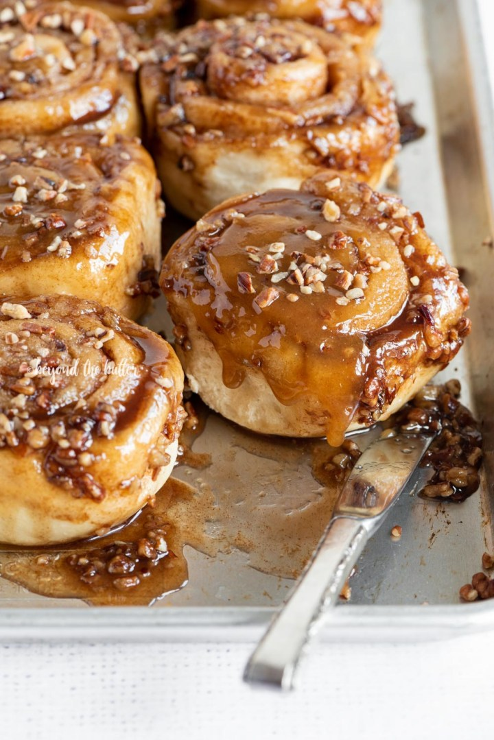 Homemade Sticky Buns from Scratch recipe | All Images © Beyond the Butter, LLC