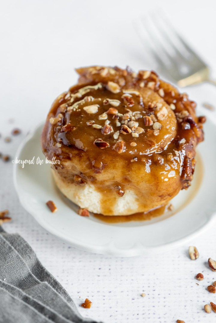 Easy Homemade Sticky Buns from Scratch recipe | All Images © Beyond the Butter, LLC