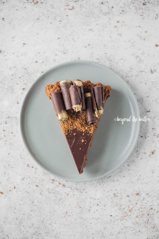 Dark Chocolate Gingersnap Tart | All images © Beyond the Butter, LLC