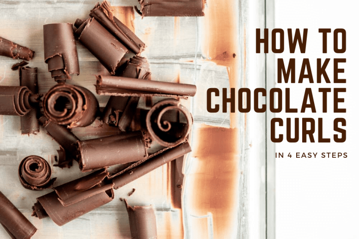 Small pile of randomly stacked Chocolate Curls | All Images and Video © Beyond the Butter™