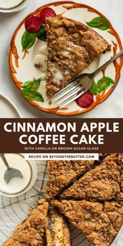 Images of cinnamon apple coffee cake from BeyondtheButter.com | All Images © Beyond the Butter®