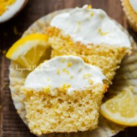 Small Batch Lemon Cupcakes