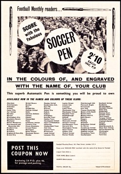 Club soccer pens