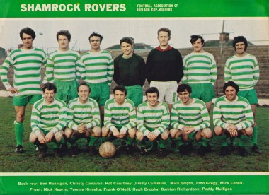 Shamrock Rovers, 1968 League Of Ireland Cup winners