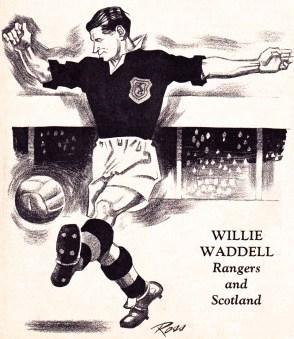 Willie Waddell, Rangers