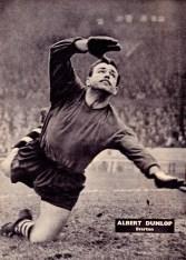 Albert Dunlop, Everton 1961